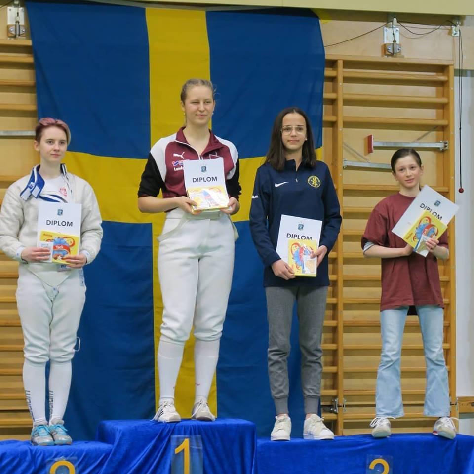 Faktning svensk flicka trea i varlden
